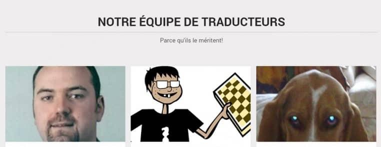 Le site WP Traduction utilise le thème OnePage de MyThemeShop dont il propose la traduction en français.