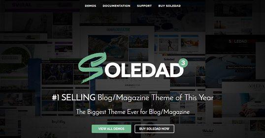 Traduction française du thème Soledad pour WordPress